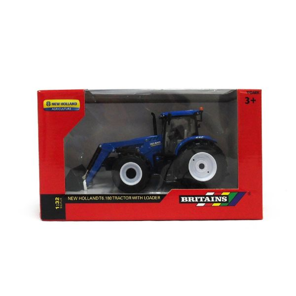 Tomy Britains New Holland T6 180 Childs Toy Tractor with Loader